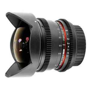 SAMYANG 8mm Fisheye T3.8 VDSLR II - Canon EOS APS-C