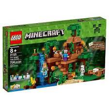 LEGO® Minecraft The Jungle Tree House 21125