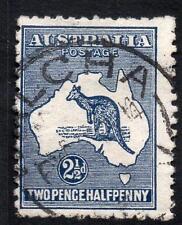 AUSTRALIA 1913 SG4 3d INDIGO DIE II USED