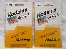 Two Kodak Kodalux Film Processing Services Mailer for 24 Prints (DP24)