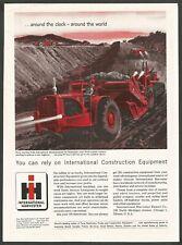 INTERNATIONAL HARVESTER Construction Equipment - 1958 Vintage Print Ad