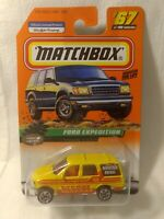Matchbox Ranger Patrol Ford Expedition #67 of 100 Mattel 1:64 Scale Diecast