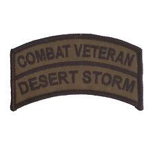 OD Combat Veteran Tab - Desert Storm / Gulf War - USMC - US ARMY US Ranger - SFG