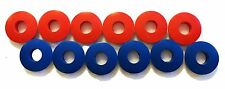 POLY GLAD HAND SEALS (12 PC) RED & BLUE  KIT - TRUCK-TRAILER