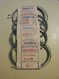 lot de 4 câbles de dérailleur 2m Campagnolo vélo vintage