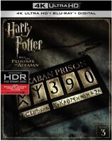 Harry Potter And The Prisoner Of Azkaban [New 4K UHD Blu-ray] With Blu
