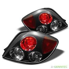 For 03-06 Tiburon Altezza Black Tail Lights Rear Brake Lamp Pair New Set L+R