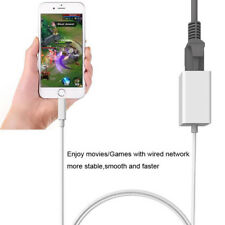 1M Ethernet Adapter Cable For Lightning to RJ45 Wired Network for iPhone X iPad