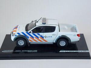 Mitsubishi L200. Holland Police. 1:43 Scale. Vitesse Die Cast. #29341. Ltd