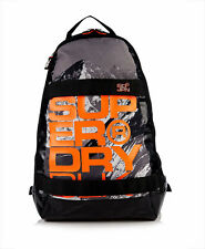 SUPERDRY - SUPER BLACK Backpack - Laptop Bag - NEW - Photo Black