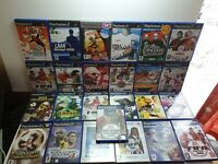 25 x Game Bundle Job Lot ~ Sony Playstation 2 ~ PS2. With Scratches. Sport Game.
