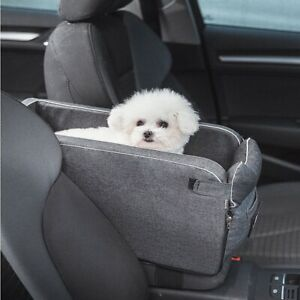 Car Armrest Box Pet Cer Nonslip Quilted Pet Car Cer for Dog Bags for Small  H6E4