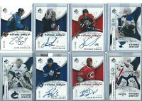 2008-09 UD SP AUTHENTIC FUTURE WATCH - PICK FROM LIST - #/999
