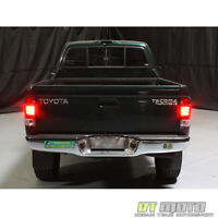 For 1995-2000 Toyota Tacoma Pickup Lumileds LED Red Smoke Tail Lights Left+Right