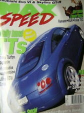 Max Speed Magazine September 1999 Supercharger Special & Bonus VW Tuner Mini Mag
