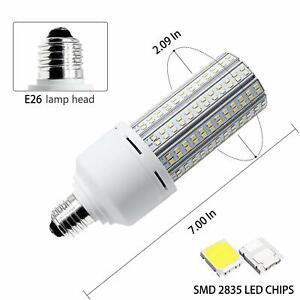 2-Pack 5000K Daylight 20W Led Corn Light Bulbs Outdoor Indoor 110 120V E26 Light