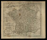 France 1796 Doolittle scarce American engraved map