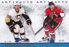 12-13 Artifacts Daniel Alfredsson /85 Sapphire Blue Senators 2012