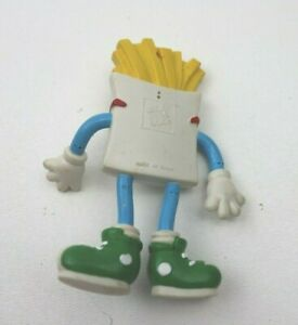 Vtg 1990 Jack In The Box Bendable Figure Sly Fry Kids Toy