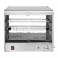 More details for buffalo economy pie cabinet 350 w - 30 pie capacity - stainless steel