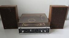 Dual HS 135 HiFi Stereoanlage Plattenspieler + 2x Lautsprecher CL 200  Anleitung