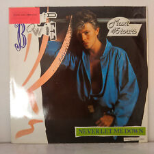 "David Bowie ‎– Never Let Me Down (Extended Dance Remix) Maxi 12""  EMI America"