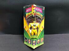 "BAHDAI Mighty MORPHIN Power Rangers 8"" Trini  Yellow Ranger. 1993 Triangular Box"