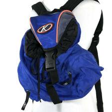 Kipling Sport Backpack Drawstring Closure Multiple Pockets Hiking Travel Nylon