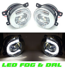 Suzuki Grand Vitara 3 & 5 Door 10/2005-> Front LED fog lamps & DRL pair left & r