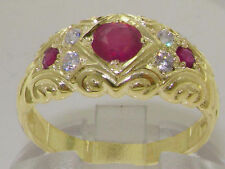14 Carat Yellow Gold Ruby Fine Jewellery