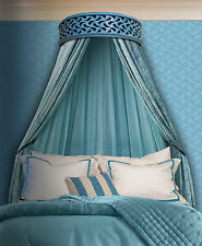 Elegant Geo-Paise Handcrafted Bed Crown - Canopy - Teester