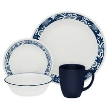Corelle Classic True Blue 16-Piece Dinnerware Set