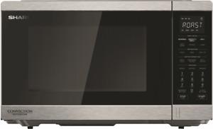 NEW Sharp R890EST 1100W Convection Inverter Microwave S/S