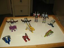 Transformers G1 Cassette Lot of 10  Beastbox-Lazerbeak-Buzzsaw-Rumble-Frenzy + M