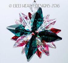 m/w Swarovski Mini Super Star Christmas Car Charm Suncatcher Lilli Heart Designs