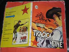 PICCOLO RANGER- N° 61- ORIGINALE 1° EDIZIONE -DEL 1968- ALBI DEL  COW BOY- RARO