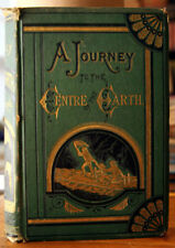 A Journey to the Centre of the Earth by Jules Verne c. 1874 Illustrated by Riou