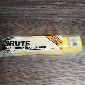 NEW Rubbermaid Commercial Mop Head BRUTE Refill (6436) for Steel Roller