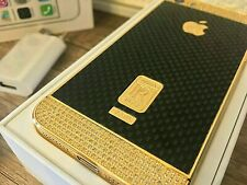 Apple iPhone 5S 16GB Gold Schwarz PR Kristallen