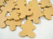 Foam Gingerbread Man Shapes Holiday Crafts 100 Count Christmas