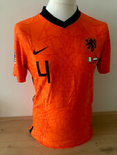 Virgil Holland Nations League shirt vs Italy match worn issued Liverpool trikot