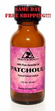 PATCHOULI ESSENTIAL OIL by H&B Oils Center AROMATHERAPY GLASS BOTTLE 1 OZ, 30 ml