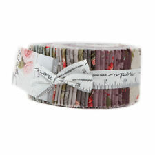 """JELLY ROLL~40-2.5"""" STRIPS~Quill~3 SISTERS~MODA FABRIC~ FLORAL~44150JR"""