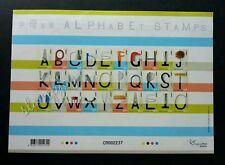 Hong Kong Alphabet 2005 Art Tools Equipment (sheetlet) Mnh *self adhesive