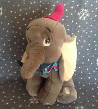 """DISNEYLAND LARGE DUMBO  SOFT PLUSH TOY 16"""" TALL EXCELLENT CONDITION"""