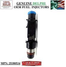 -05-06-07 GMC Envoy 4.2L I6- Genuine Delphi #25380534 Reman x1 OEM Fuel Injector