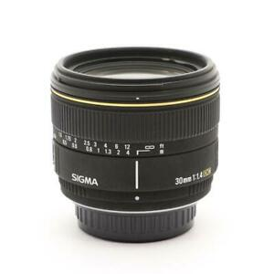 Secondhand Sigma 30Mm F1.4Ex Dc For Pentax Lens Interchangeable
