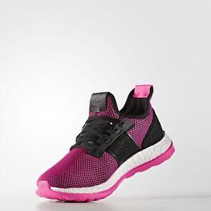 ADIDAS PURE BOOST ZG WOMENS RUNNING/FITNESS/TRAINING UK SIZES CORE BLACK/PINK