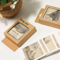 Fashion DIY Creative Gift Retro Mini Vintage Postcard Greeting Cards