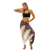 Women Casual Loose Yoga Trousers Baggy Boho Baggy Loose Jumpsuit Harem Pants
